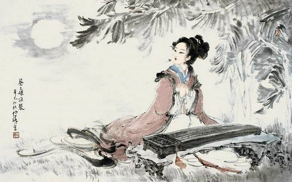 poetry translation - Chinese beauty